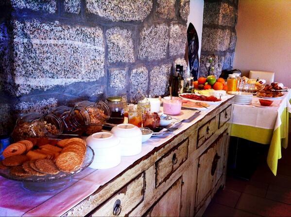selección del desayuno