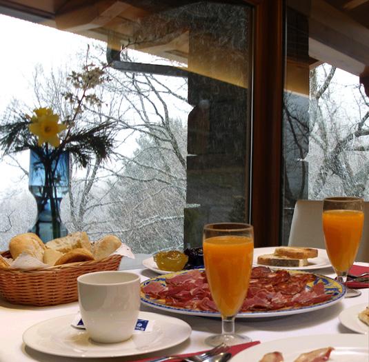 desayuno en invierno